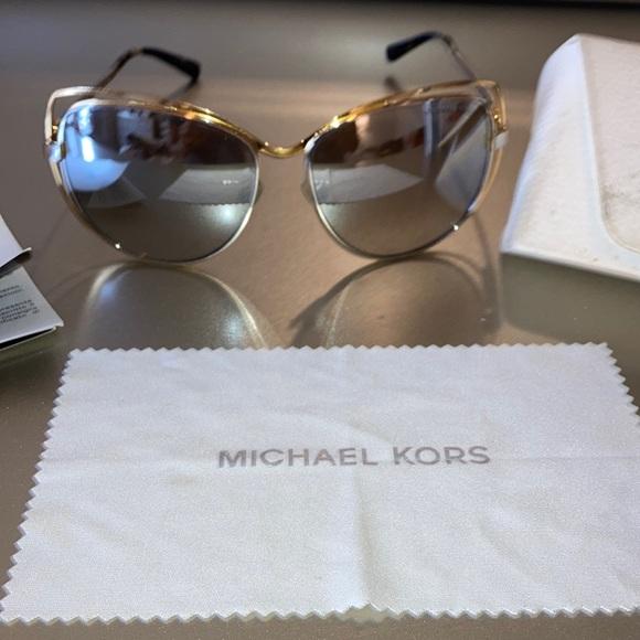 Michael Kors sunglasses. 2 tone gold / silver